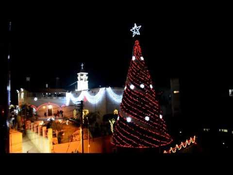 لحظة اضاءة شجر الميلاد في فسوطة 9.12.2016  موقع اهلا