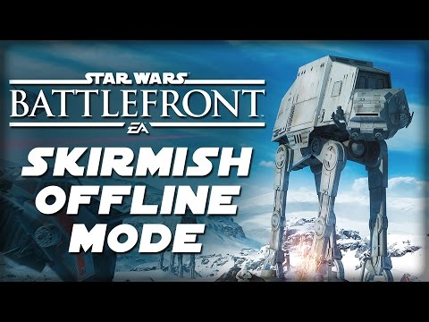 Skirmish Is Probably Not The Battlefront Offline Mode You're Looking For