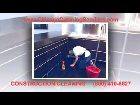 Chicago construction cleaning, post construction cleaning services Chicago