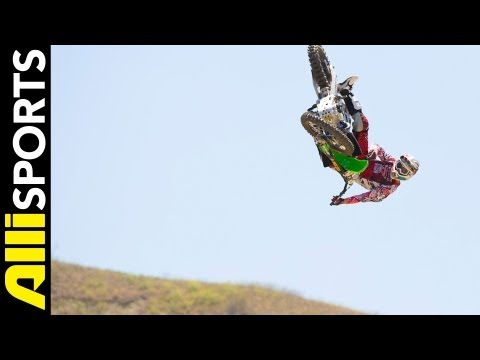 How To Seatbounce Whip, Destin Cantrell, Alli Sports FMX Step By Step Trick Tips