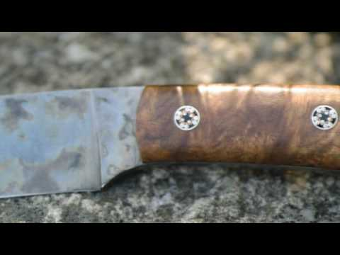 Bark River Knives Fox River patina