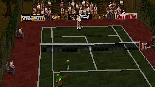 Tennis Arena Japan SEGA SATURN HYPERSPIN NOT MINE VIDEOS
