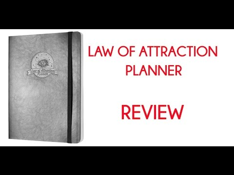 Law of Attraction Planner Review