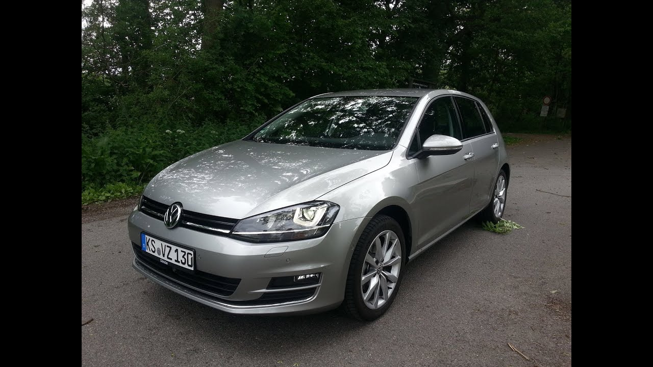vw golf vii 7 2 0 tdi dsg 150ps probefahrt drive review youtube. Black Bedroom Furniture Sets. Home Design Ideas