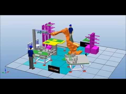 Taşıma Robotu Simülasyonu 12