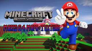 Minecraft PE 1.0 Mapa Mario 64