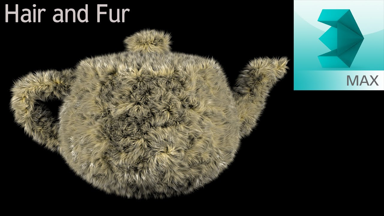 Практическое применение hair and fur с использованием
