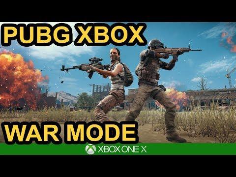 WAR MODE IS HERE / PUBG Xbox X Gameplay