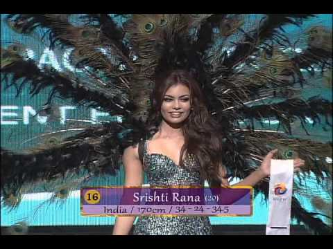 National Costume and Swimsuit of Miss Asia Pacific 2013 Supe