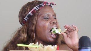 Home-Made-Tostada-Bowl ASMR Eating Sounds