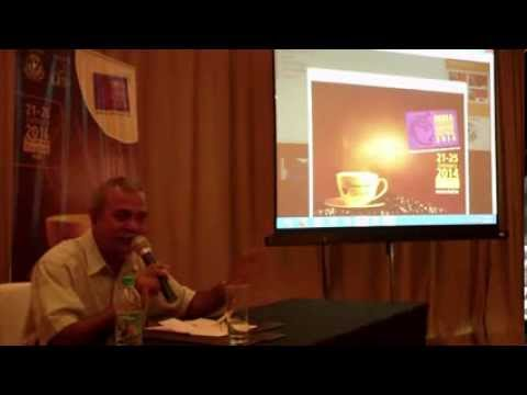 10 / 10   India International Coffee Festival 2014 press briefing   Ramesh P  Rajah