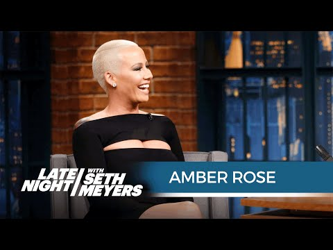 Amber Rose Explains Her Racy Line of Emojis