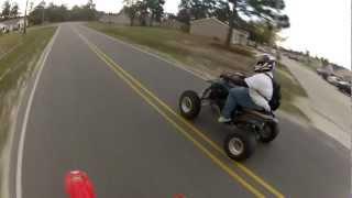 Honda CRF150r, Yamaha 450 & 660 Trail Riding Day 1 (1/1)