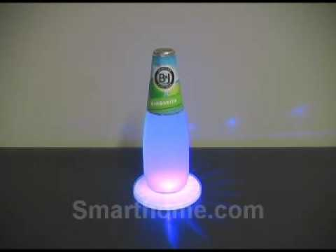 Sylvania Dot-it Battery Powered LED Color Changing Coasters