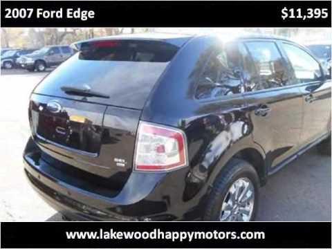 2007 Ford Edge Used Cars Lakewood CO