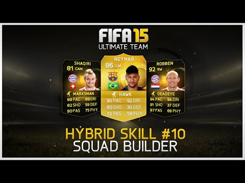 FIFA 15 - Hybrid Skill Squad Builder #10 ft. 2nd IF Robben