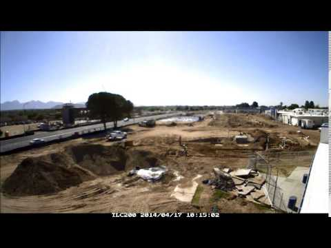 Las Cruces High School Renovation - Time Lapse Camera, April 2014