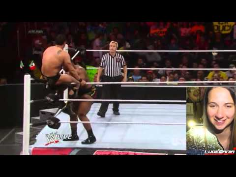 WWE Raw 3/31/14 Big E vs Alberto Del Rio Live Commentary
