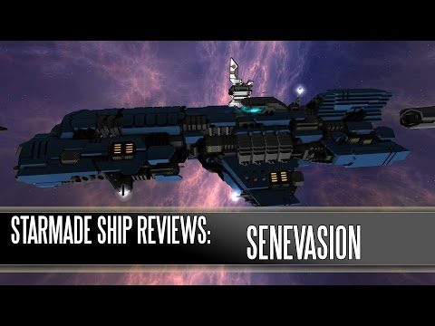 Starmade Ship Reviews: SenEvasion