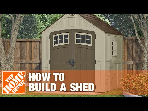 How to Build a Shed - The Home Depot