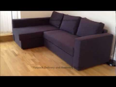 Ikea Manstad Corner Sofa Bed With Storage How To Make