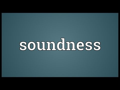 Header of soundness