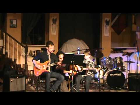 Will Loxley Performs a Guitar Piece at the Hudson School of Music Recital