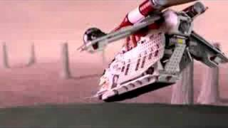 LEGO Star Wars Republican Gunship TVC