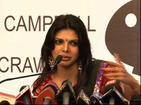Hot Sherlyn Chopra Desperate Gym in media