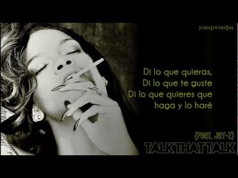 Rihanna - Talk That Talk (feat. Jay-z) (traducción Al Español) video