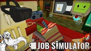 """I'M A GOURMET VIRTUAL REALITY CHEF!!!""  Job Simulator HTC Vive Virtual Reality (VR) Game!"
