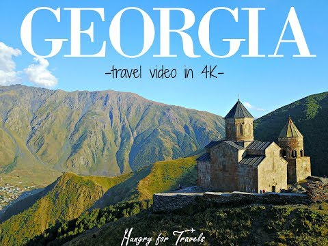 GEORGIA travel video in 4K by HungryforTravels.com