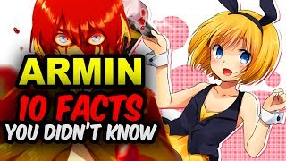 10 Armin Arlert Facts You Didn?t Know! Attack on Titan Facts