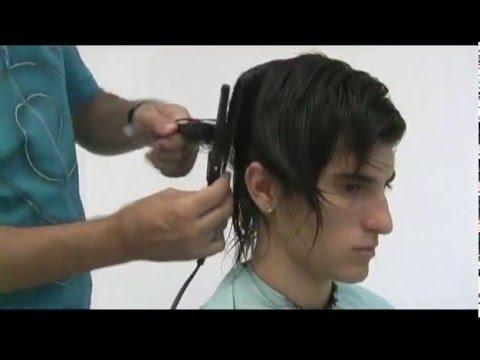 Corte masculino com navalha - Prof. Narciso Costa
