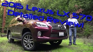 2015 Lexus LX 570 Detailed Review and Road Test