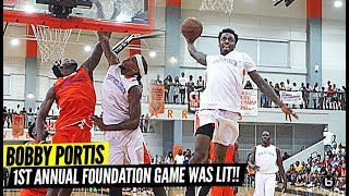 Antonio Blakeney Puts On a SHOW w/ Zach LaVine Watching at Bobby Portis Foundation Game! MEAN POSTER