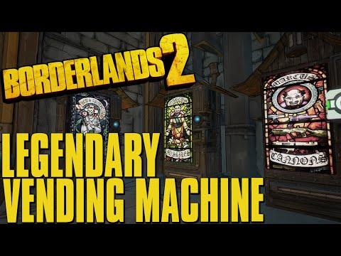 Borderlands 2 Legendary Gun in a Vending Machine 3
