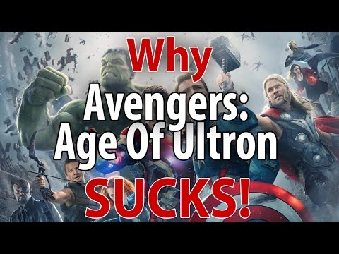 WHY Avengers Age Of Ultron SUCKS!!!   Spoilers Review   3 Big Things Wrong With Joss Whedon Movie
