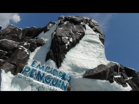 Antarctica Empire of the Penguin Complete Ride Through POV SeaWorld Orlando