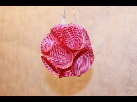 Оригами шарики из бумаги своими руками
