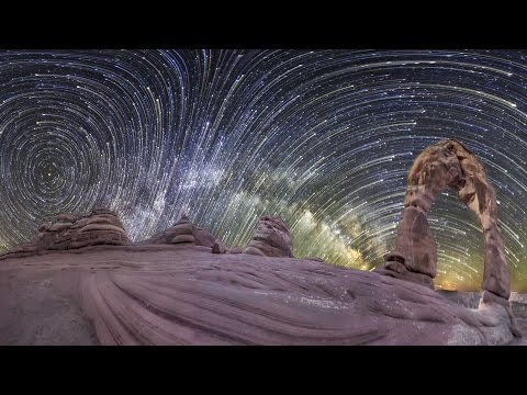 Planetary Panoramas - 360 Degree Night-sky Time-lapse By Vincent Brady, Music By Brandon Mccoy video