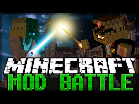 Minecraft Harry Potter Mod Vs Star Wars Mod Mod Battles