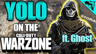 Commanding Officer Meets Real Ghost Voice Actor - YOLO on the Warzone