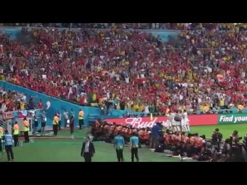 Charles Aránguiz goal for Chile to finish Spain in World Cup 2014