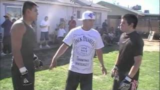 Roy Vs Evan     BACKYARD MMA FIGHTING