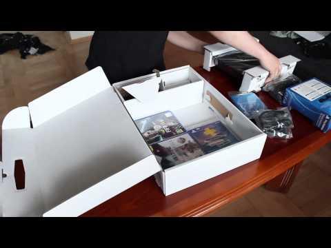 Sony Playstation 4 - Unboxing i prezentacja + walka fankotów