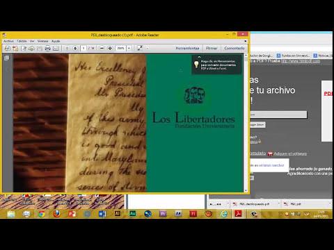 Como quitar protección a archivos PDF sin descargar programas