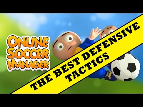 OSM BEST TACTICS - The champ defensive tactic !!! ( Online soccer manager )