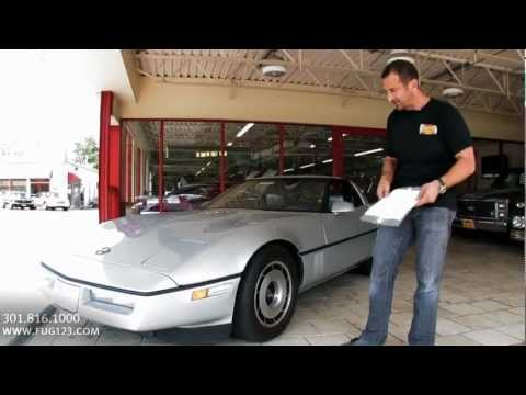 1985 Chevrolet Corvette TEST DRIVE FOR SALE flemings ultimate garage