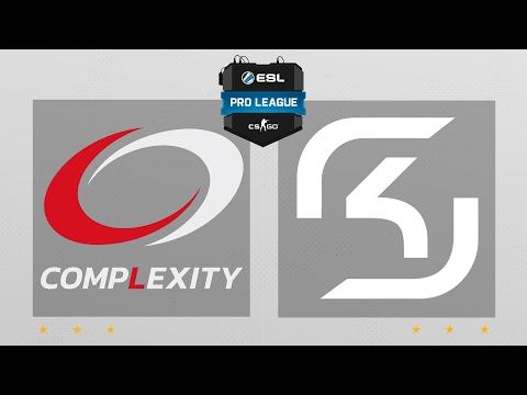 CS:GO - compLexity vs. SK [Overpass] Map 1 - ESL Pro League Season 5 - NA Matchday 3